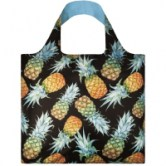 Сумка складная LOQI FASHION - JUICY Pineapples